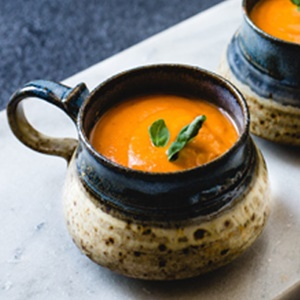Creamy Fire Roasted Tomato Coconut Soup